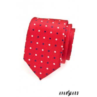 Pánská červená kravata zn. Avantgard 559-1359-0