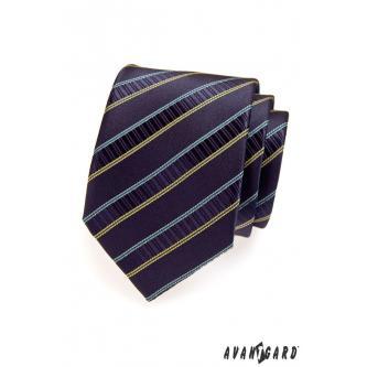 Pánská modrá kravata zn. Avantgard 559-1391-0