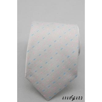 Pánská šedá kravata zn. Avantgard 559-1408-0
