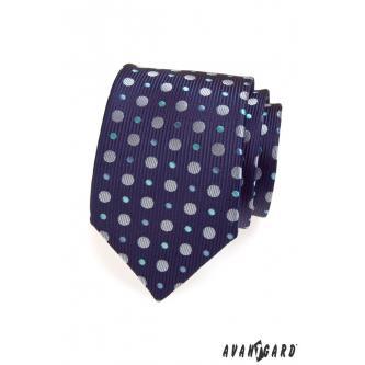 Pánská modrá kravata zn. Avantgard 559-1422-0