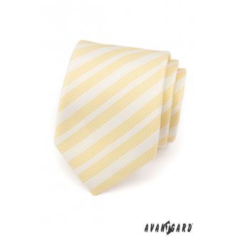 Pánská žlutá kravata zn. Avantgard 559-1472-0