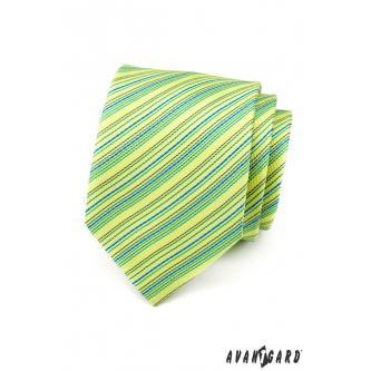 Pánská zelená kravata zn. Avantgard 559-1474-0