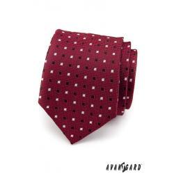 Pánská bordó kravata zn. Avantgard 559-1479-0