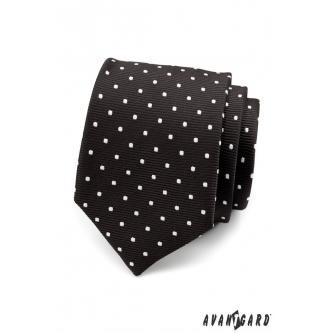 Pánská černá kravata zn. Avantgard 559-1506-0