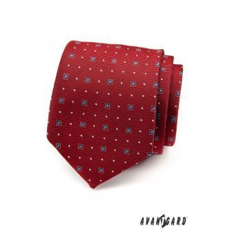 Pánská červená kravata zn. Avantgard 559-1515-0