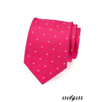 Pánská fuchsiová kravata zn. Avantgard 559-1536-0