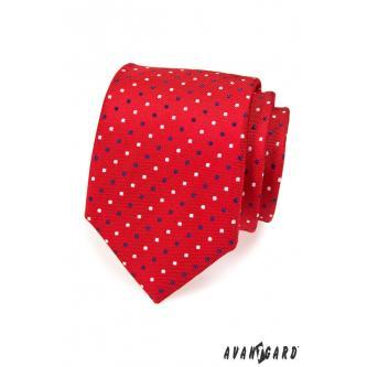 Pánská červená kravata zn. Avantgard 559-1537-0