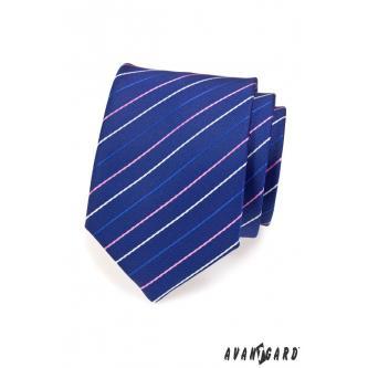 Pánská modrá kravata zn. Avantgard 559-1541-0