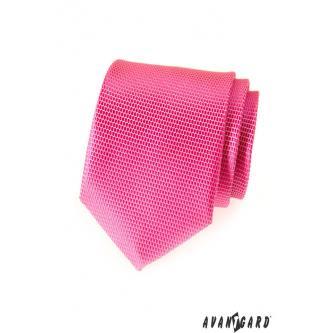 Pánská růžová kravata zn. Avantgard 559-1543-0