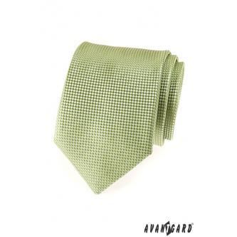 Pánská olivová kravata zn. Avantgard 559-1544-0