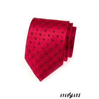 Pánská červená kravata zn. Avantgard 559-1548-0