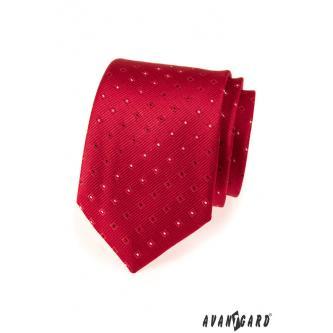 Pánská červená kravata zn. Avantgard 559-1552-0