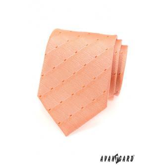 Pánská lososová kravata zn. Avantgard 559-1558-0