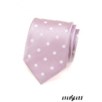 Pánská růžová kravata zn. Avantgard 559-1560-0