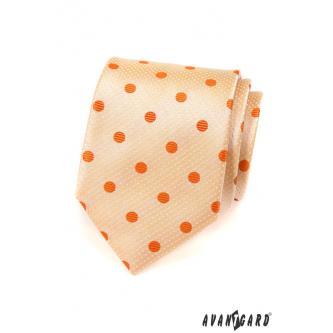 Pánská lososová kravata zn. Avantgard 559-1561-0