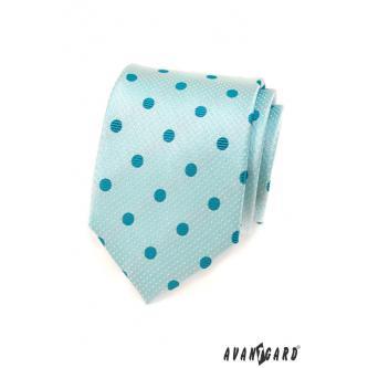 Pánská tyrkysová kravata zn. Avantgard 559-1562-0