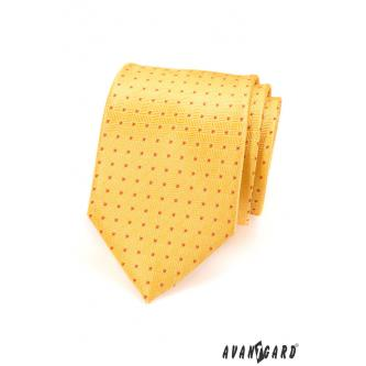 Pánská žlutá kravata zn. Avantgard 559-1563-0