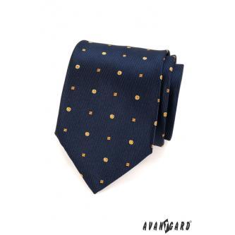 Pánská modrá kravata zn. Avantgard 559-1572-0