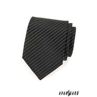 Pánská černá kravata zn. Avantgard 559-1588-0