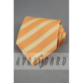 Pánská oranžová kravata zn. Avantgard 559-71015-0