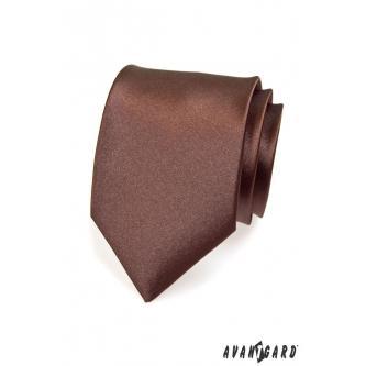 Pánská hnědá kravata zn. Avantgard 559-732-0