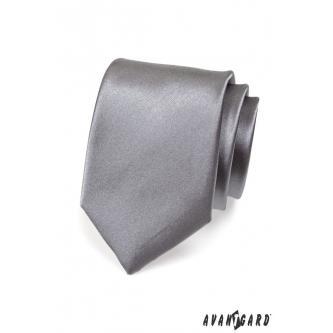 Pánská grafitová kravata zn. Avantgard 559-736-0