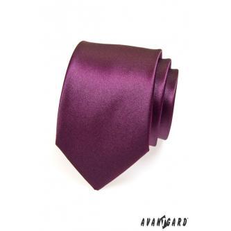 Pánská fialová kravata zn. Avantgard 559-738-0