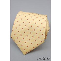 Pánská žlutá kravata zn. Avantgard 559-80225-0