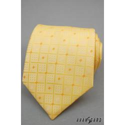 Pánská žlutá kravata zn. Avantgard 559-80809-0