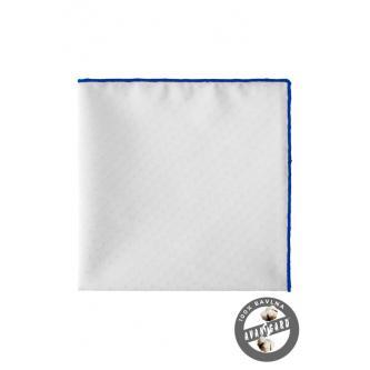 Kapesníček bílo-modrý LUX zn. Avantgard 583-5110-0