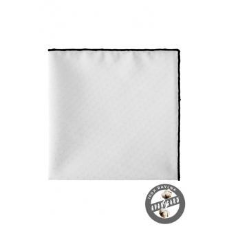 Kapesníček bílo-černý LUX zn. Avantgard 583-5112-0