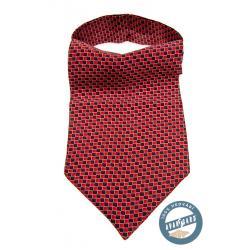 Pánský červený askot zn. Avantgard 593-3149-0