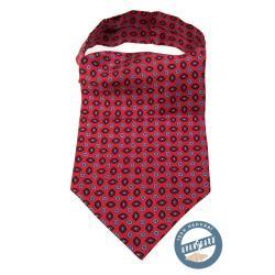 Pánský červený askot zn. Avantgard 593-3151-0