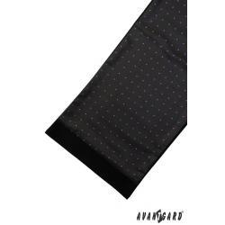 Pánská černá šála zn. Avantgard 954-13068-0