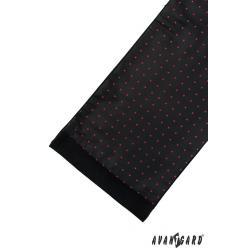 Pánská černá šála zn. Avantgard 954-13069-0