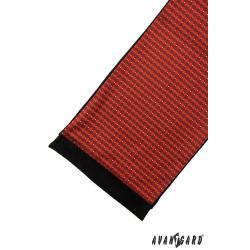 Pánská červená šála zn. Avantgard 954-13076-0