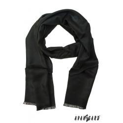 Pánská černá šála zn. Avantgard 957-01475-0