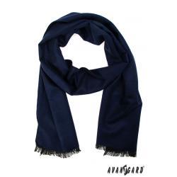Pánská modrá šála zn. Avantgard 957-01492-0