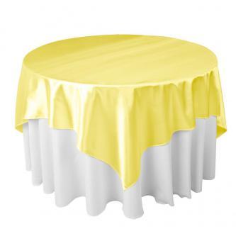 Kvalitní saténový ubrus vhodný jak pro kulaté tak pro obdélníkové stoly. Rozměr 180 x 180 cm.