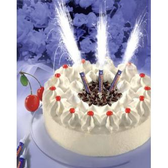 Fontána na dort, velikost tubusu 25 cm