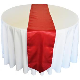 Saténový pás pro dekoraci svatební tabule 30 x 270 cm.