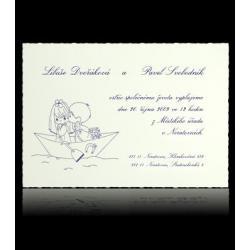 Svatební oznámení Classic A0301