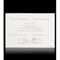 Svatební oznámení Classic A0601