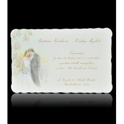 Svatební oznámení Classic A1005