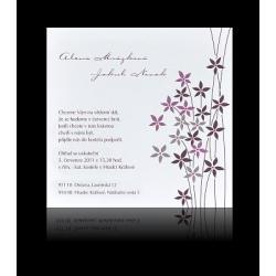 Svatební oznámení Design A1007