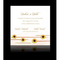 Svatební oznámení Design A1208