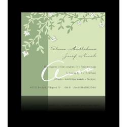 Svatební oznámení Design A1303
