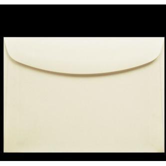 Obálka k objednání se svatebním oznámením. Krémový kvalitní papír, 175x125 mm.