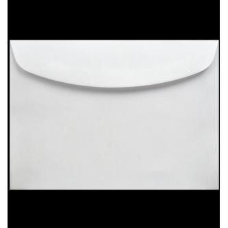 Samostatně prodejná obálka na svatební oznámení. Bílý kvalitní papír, 175x125 mm.