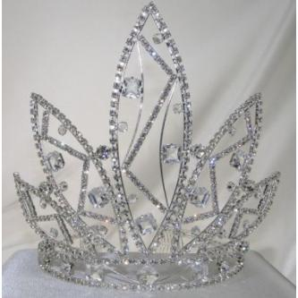 Svatební korunka, 5806-0046 - S00 - krystal - stříbro